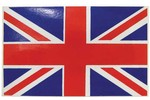 Classic Austin Mini 'union Jack' Decal Sticker 1.75 X 3