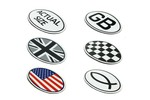 Mini Cooper Magnetic Decal Vinyl 5 X 3.25 Inches Various Patterns