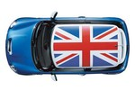 Roof Graphic Union Jack Flag - Mini Cooper And S
