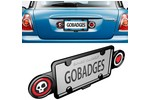 Gobadge License Frame Dual Badge Holder System