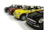 Mini Cooper Toy 1:28 Scale Diecast Model- Various Colors