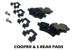 Brake Pads Factory Replacement Rear Set - Cooper & S