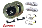 Brembo Gt Big Brake Kit Drilled Silver - Mini Cooper And S