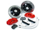 Stoptech 12.9 Big Brake Upgrade Kit Red Slotted - Mini Cooper & S