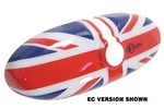 Mini Cooper Mirror Cover Interior Union Jack W/o Ec 2013+