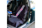 Seat Armour Seat Cover Checkered Union Jack Seat Towel