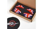 Door Pull Covers Union Jack Set Of 4 - Mini Cooper & S Countryman