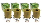 Oil Filter Mann W/gasket 4-pak - Mini Cooper & S