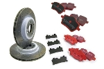 Stage 2 Brake Upgrade Kit Ebc Performance - Cooper S