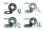 Wheel Spacer Pair W/m14 Bolts Various Thickness Mini Cooper & S