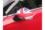 Mini Cooper Mirror Sock- Union Jack Polyester Pair