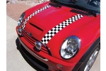 Magna Guard Magnetic Checkered Stripes Pair - Cooper And S