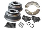 Big Drum Brake Kit For Rear Of All Mini & Cooper