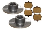 Two 8.4 Brake Rotors And Pads - Mini & Mini Cooper