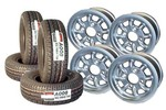 4.5 Mini Cooper Wheels And Yokohama A008 Tire Set Of 4