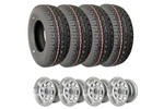 Classic Austin Mini Set Of 4 Wheels And Yokohama 165-70-10 Tires