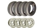 Set Of 4 Mini Cooper 5x12 Wheels 165/60-12 Falkens