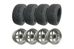 Set Of 4 Mini Cooper 7x13 Mamba Wheels & 175/50-13 Yokohama