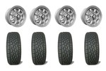 5x12 Gb Alloy Wheels & Yokohama 165/60x12 Tires Set Of 4