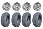 5x12 Gb Alloy Wheels & Falken 165/60x12 Tires Set Of 4