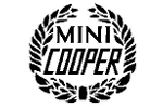 Mini Cooper Decal White Sold Each - Mini Cooper & S