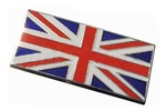 Austin Mini Enamel Union Jack Stick On Badge