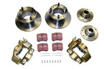 Austin Mini Brake Conversion Kit 8.4 To 7.5 Brakes Using Aftermarket Calipers
