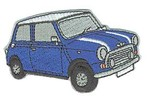 Classic Mini Patch - Blue