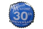 Mini Mania 30th Anniversary Pin
