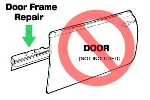 Door Frame Repair Panel Lower Edge Right Hand Mini Mk 3