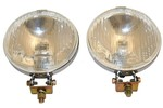Fog Lights With Chrome Backing (pair) , Sprite , Mg Midget , Mini