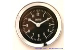 Classic Austin Mini Smiths Clock 52mm Black Face