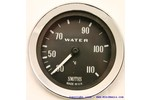 Classic Austin Mini Water Temp Gauge (degrees C) Mechanical Smith Black Face