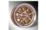 5x10 Minilight Wheel By John Brown Wheels, Gold