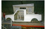 Classic Austin Mini Pick-up Body Shell Kit Fiberglass