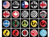 Classic Mini Badges