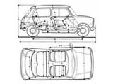 Mini Cooper Dimensions >> Classic Mini Body Dimensions Size Does Matter
