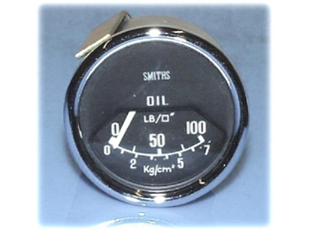 Smiths Oil Pressure Gauge Mechanical 90 Degree Sweep
