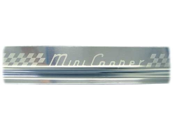 S/s Sill Guard/tread Plate Mini Cooper Embossed, Pair