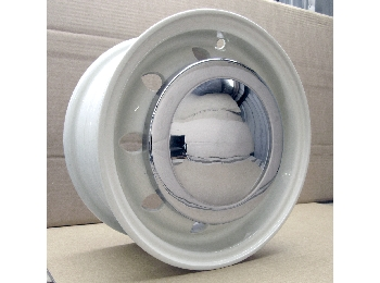 Classic Austin Mini Cooper S Wheel 10 X 4.5-aluminum, Old English White