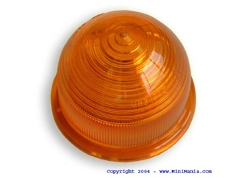 Turn Signal Lens Front Amber Plastic Beehive