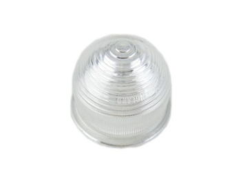 Lens Turn Signal Clear Plastic Beehive