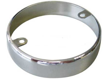 Austin Mini Chrome Ring For Late Indicator Lamp 1986 And Later