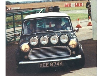 Classic Austin Mini Works Style Lamp Pod And Halogen Spot Lamps