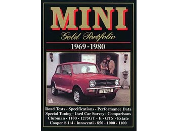 Austin Mini Gold Portfolio Book 1969-1980