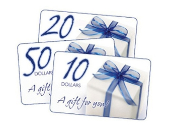 Mini Mania Gift Certificate, $10 Increments