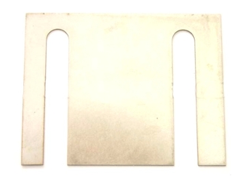 Radius Arms Tracking Shim, Stainless Steel, For Ck22 Box Section