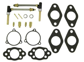 Austin Mini Su Hs2 & Hs4 Service Kit For Dual Carburetors