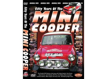 Fifty Years Of The Mini Cooper Dvd -for Computers Only