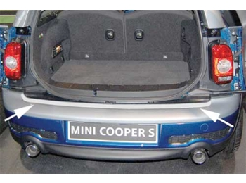 Mini Cooper Bumper Clubman Rear Guard Protection R55